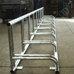 Bicycle rack - stainless steel