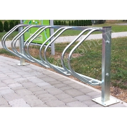 stainless steel  bicycle rack