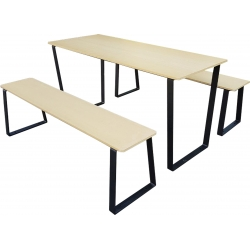 Composite Timber Table Set