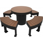 Composite Timber Furniture Table Set