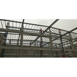 Warehouse Truss Structure at Tuas