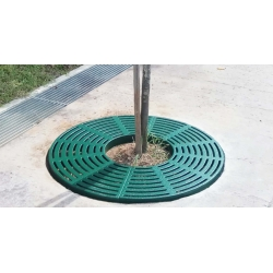 Tree Grating - Galvanized Steel
