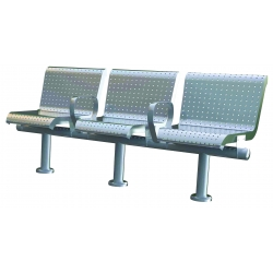 Outdoor furniture - stainless steel benches -park furniture-garden furniture