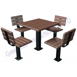 outdoor furniture- recycled plastic lumber furniture
