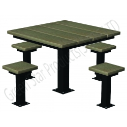 Outdoor Furniture plastic lumber