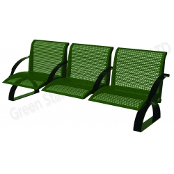 Galvanized steel with plastic coated furniture