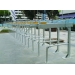 Galvanized 2-Tier bicycle rack