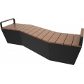 Composite timber Benches