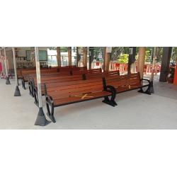 Balauwood Benches without divider