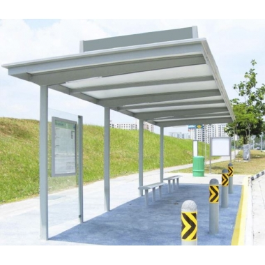 Permanent Bus Shelter